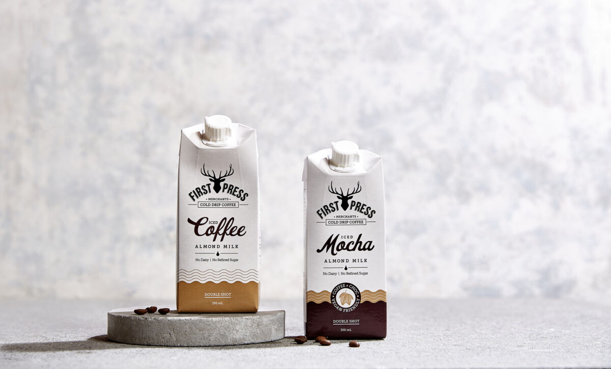 Packaging Design for First Press Coffee