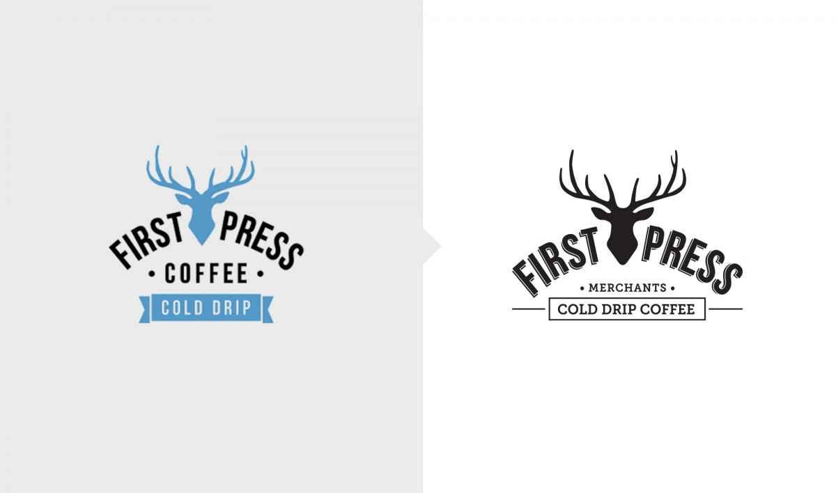 Rebrand for First Press Coffee