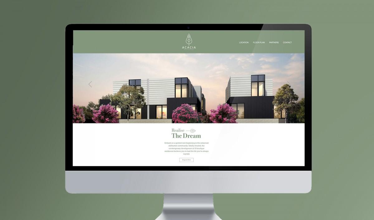 Website Design for Acacia Development