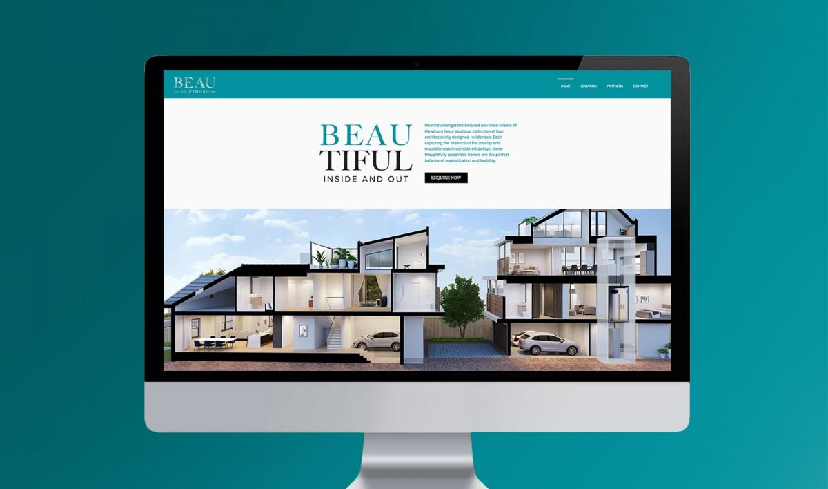Website Design for Beau Development