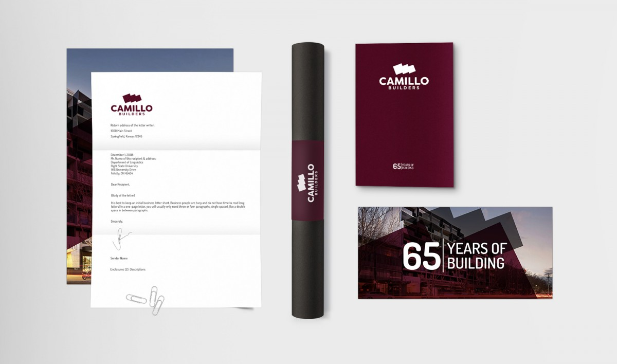 Brand Design for Camillo Builders