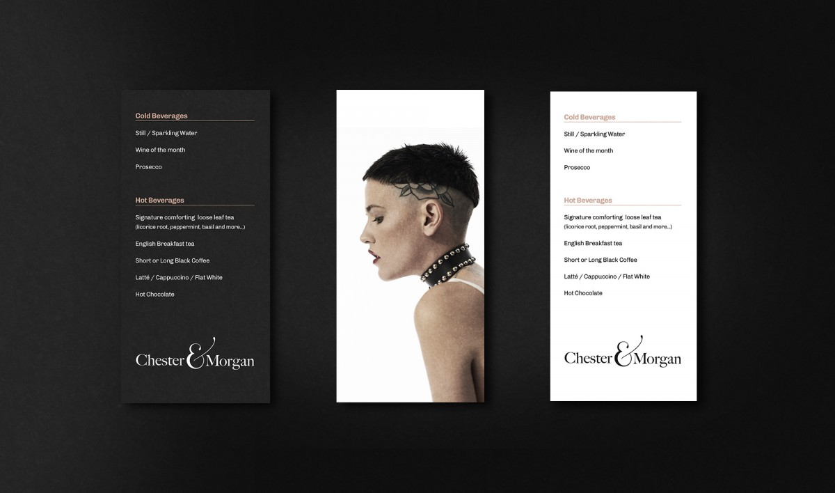 Brochure Design for Chester & Morgan