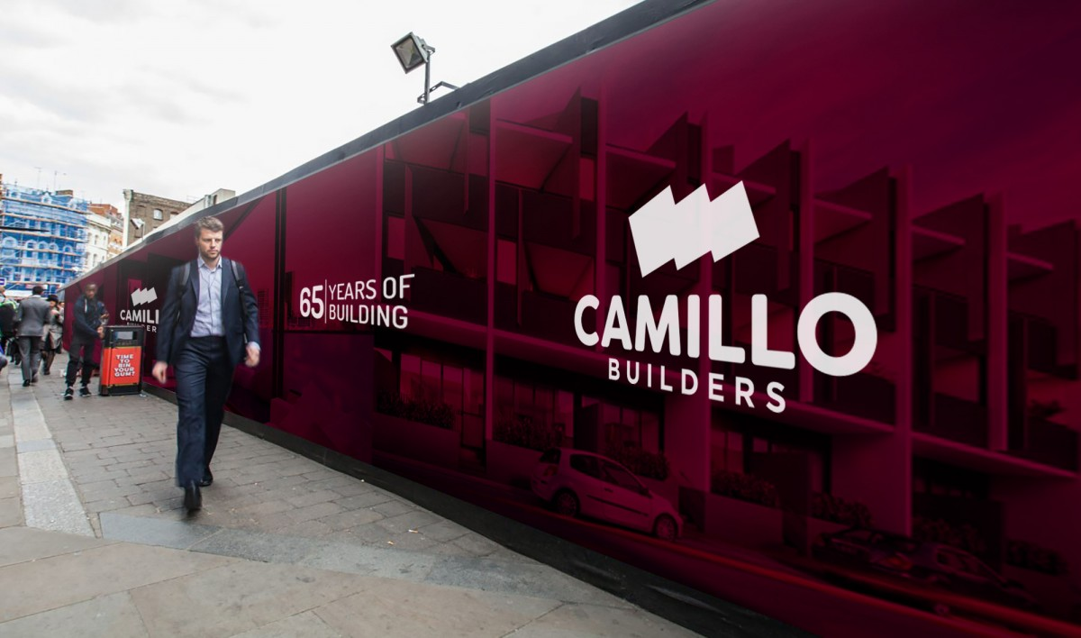 Hoarding Design for Camillo Builders