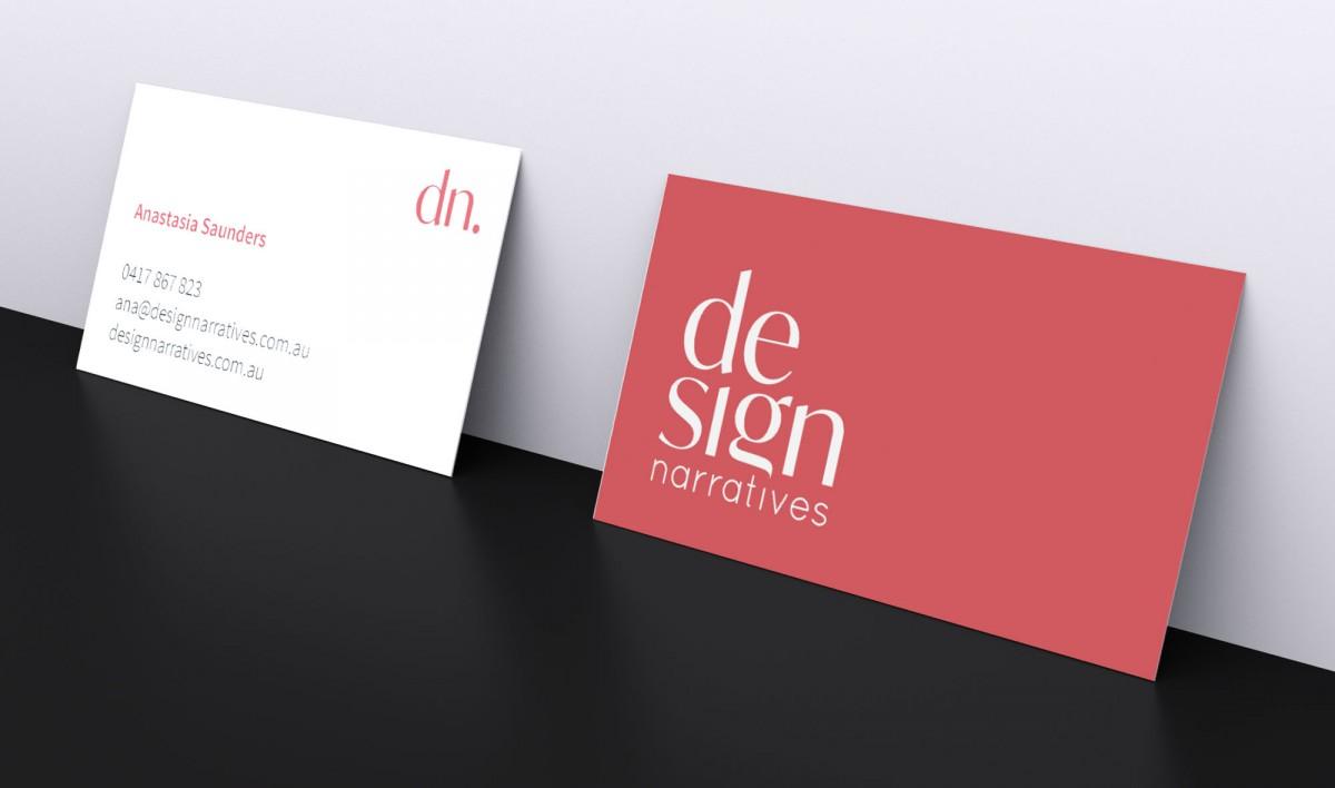 Business Card Design for Design Narratives