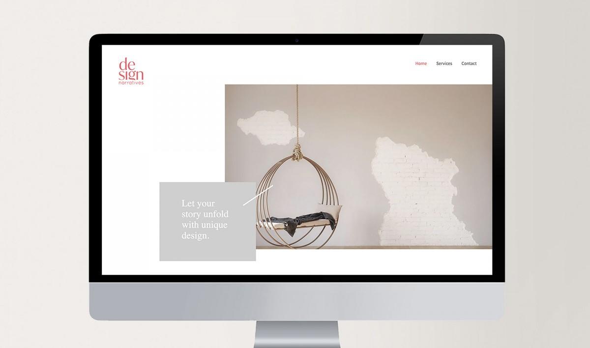 Website Design for Design Narratives