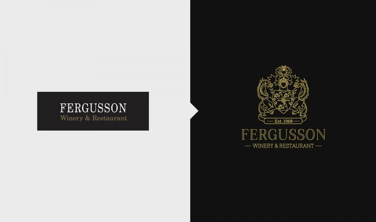 Rebrand for Fergusson Winery