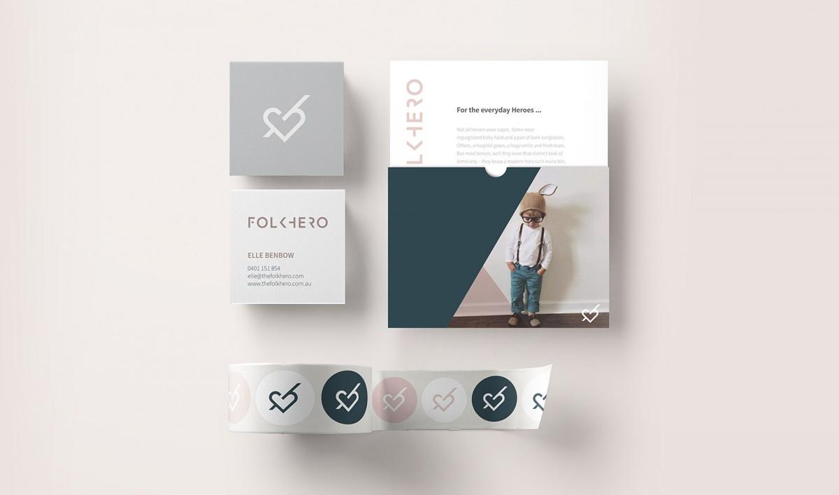 Brand Design for Folkhero
