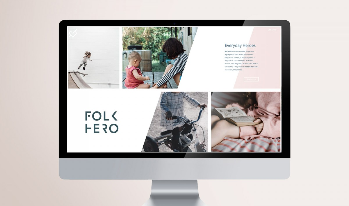 Website Design for Folkhero
