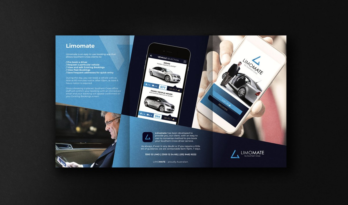 Brochure Design for Limomate