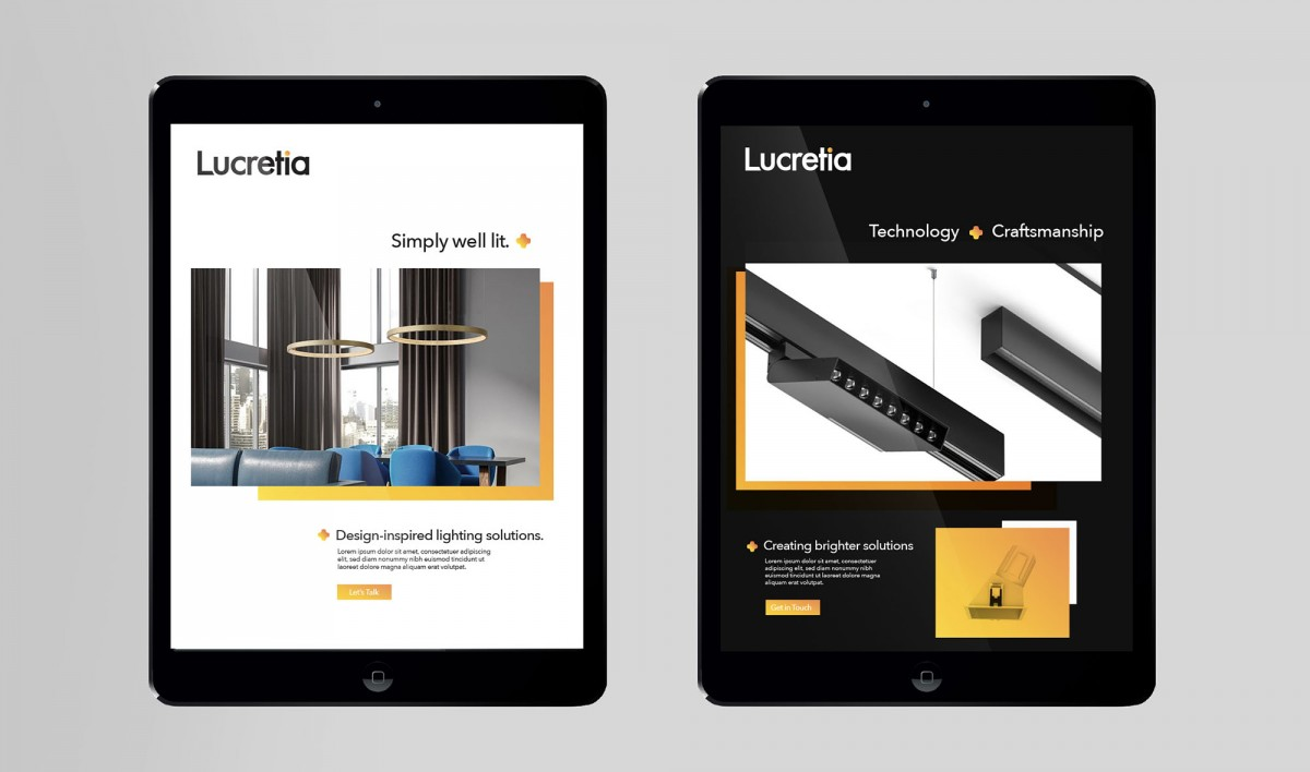 Digital Marketing for Lucretia Lighting