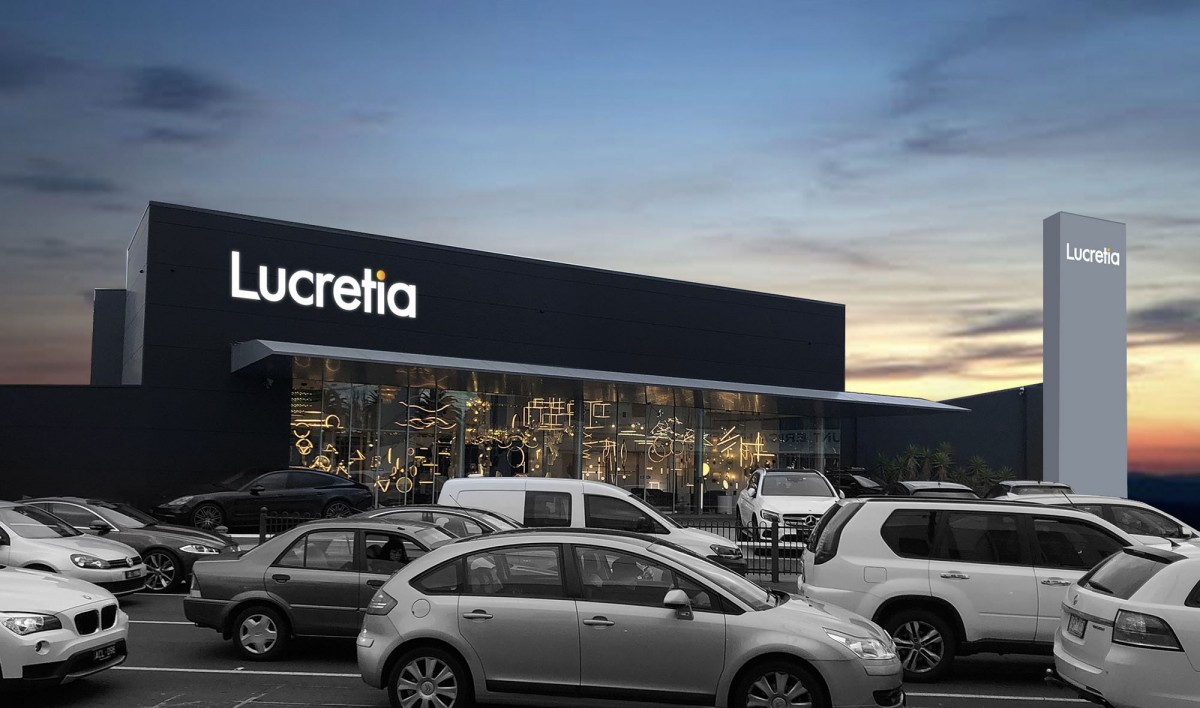 Signage Design for Lucretia Lighting
