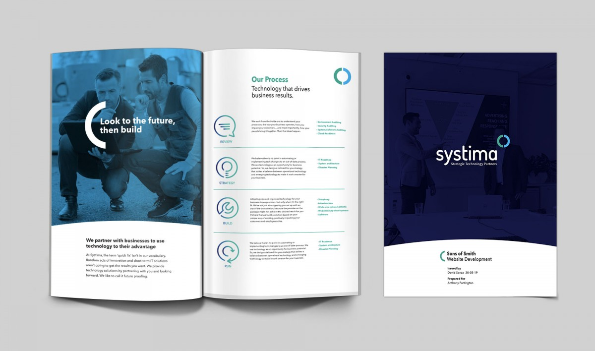 Publication Design for Systima