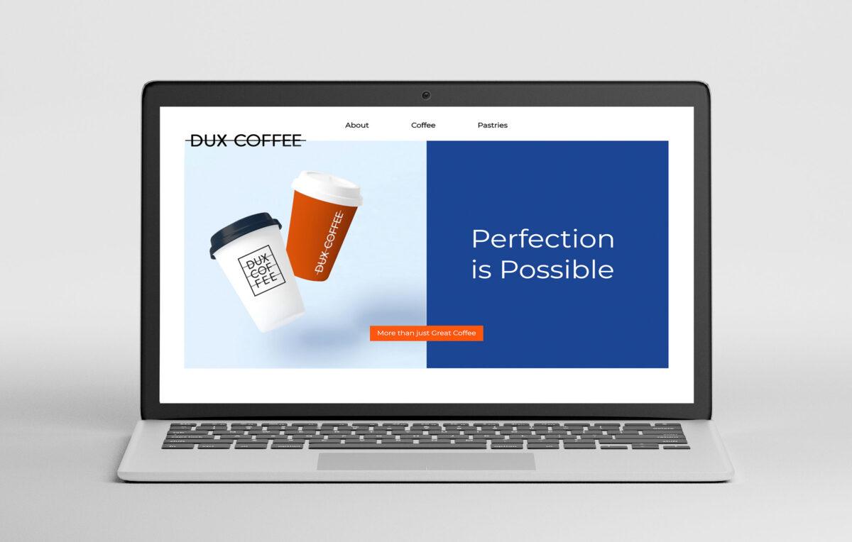 Website Design for Dux Coffee Bar