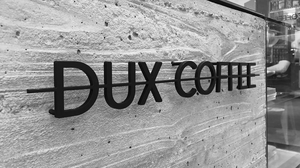 Brand Design for Dux Coffee Bar