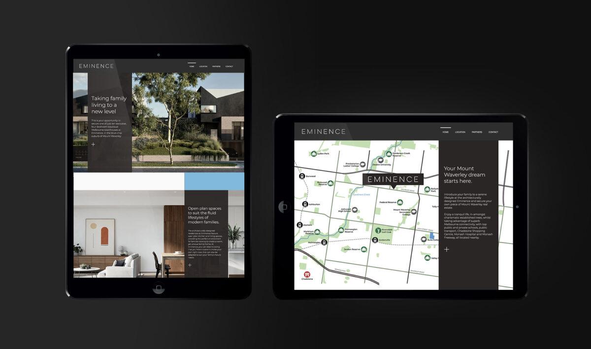 Website Design for Eminence