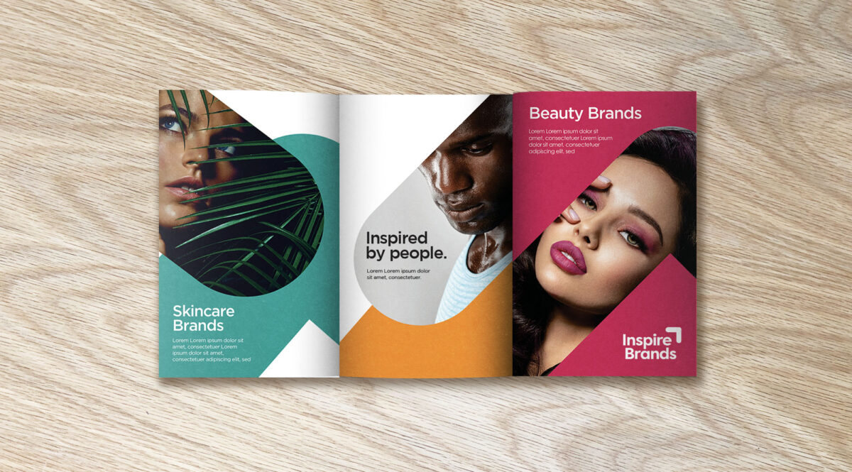 Brochure Design for Inspire Brands