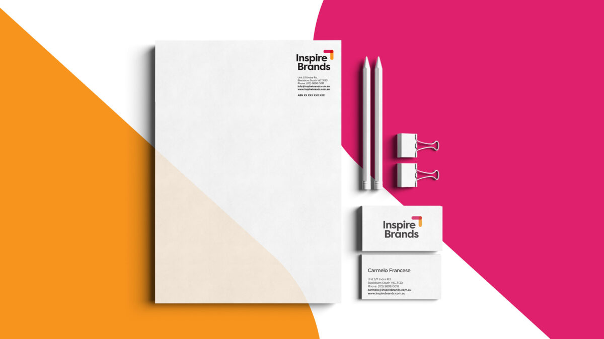 Stationery Design for Inspire Brands