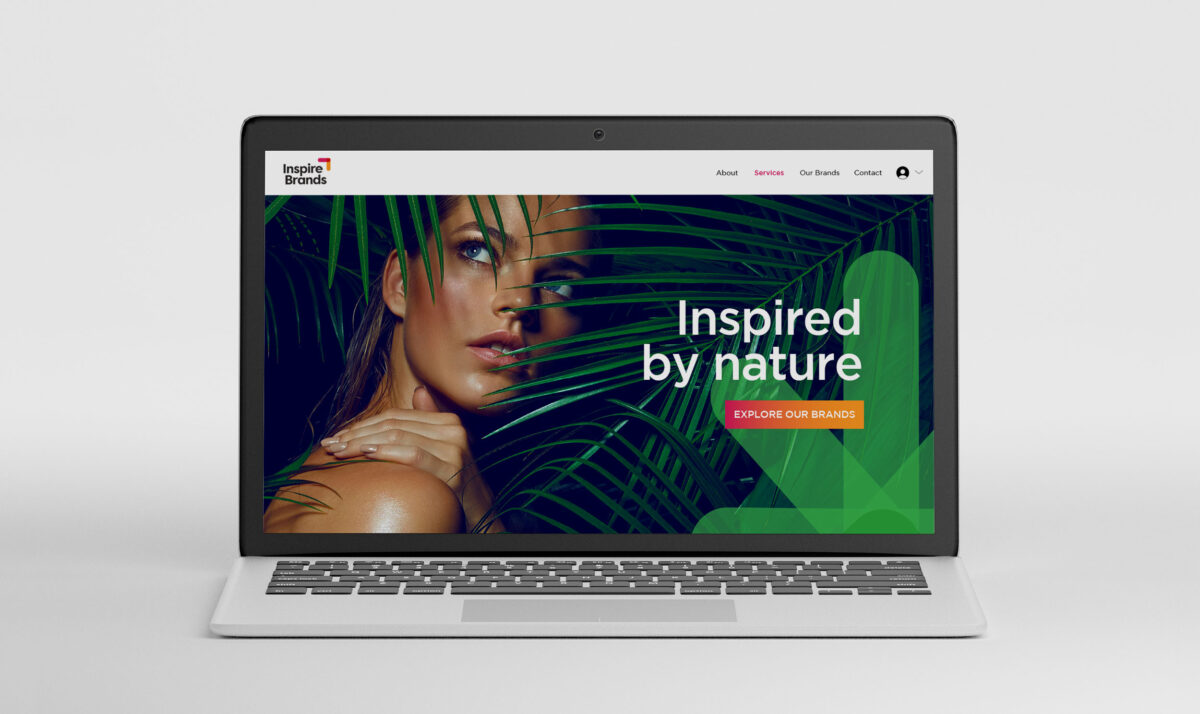 Website Design for Inspire Brands